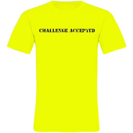 Challenge Accepted Neon