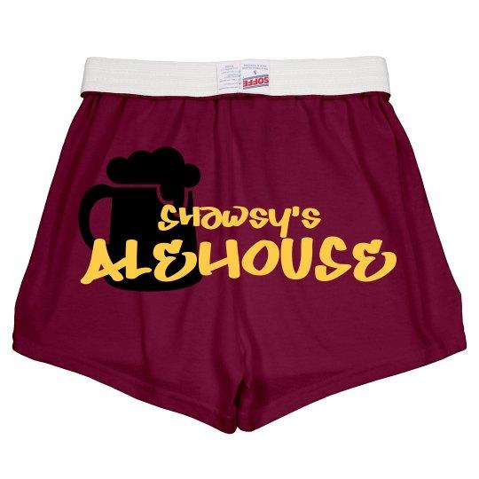 Cheer Shorts (Maroon)