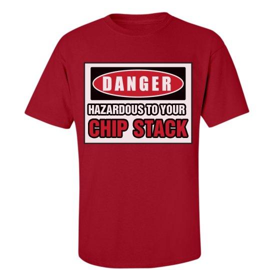 Chip Stack In Danger