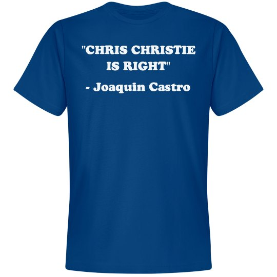 Chris Christie Is Right Quote