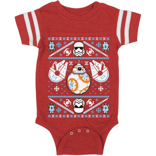 Christmas Baby's In Space
