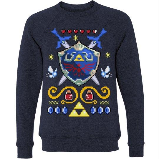 Christmas Gamer's Sweater Delight