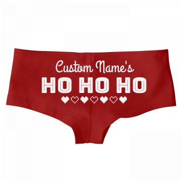 Christmas Ho Underwear