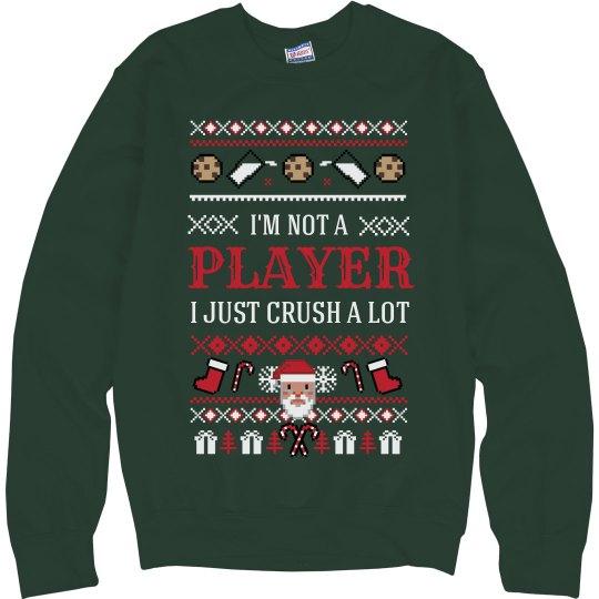 Christmas Sweater Santa Crush A Lot