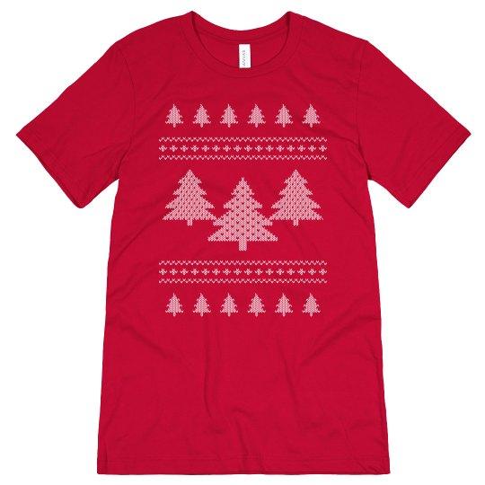 Christmas Tree Ugly Sweater Shirt
