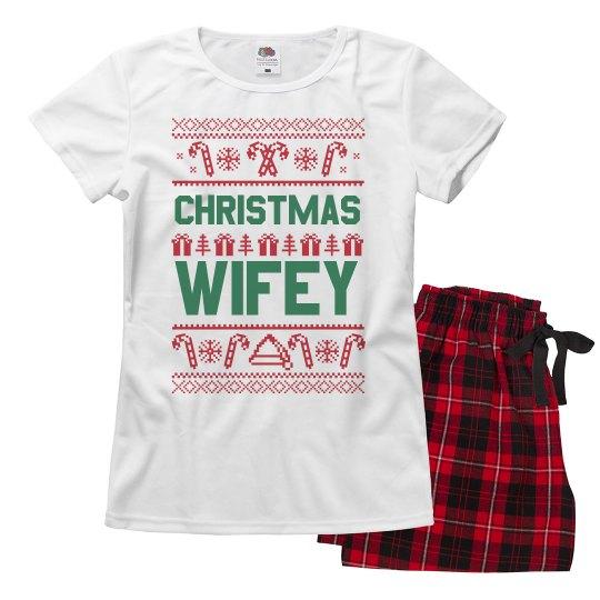 Christmas Wifey Pajamas