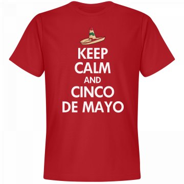 Cinco De Mayo Keep Calm
