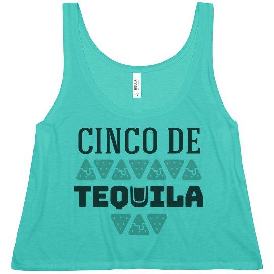 Cinco De Tequila Neon Crop