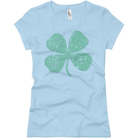 Classic Distressed Shamrock