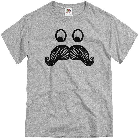 Classic Mustache Face