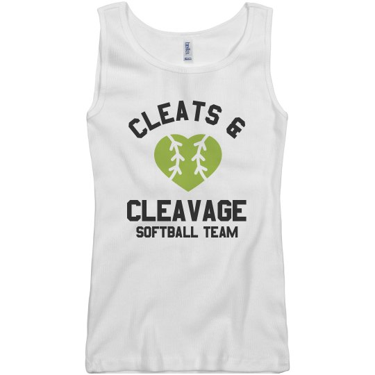 Cleats & Cleavage Softball Team