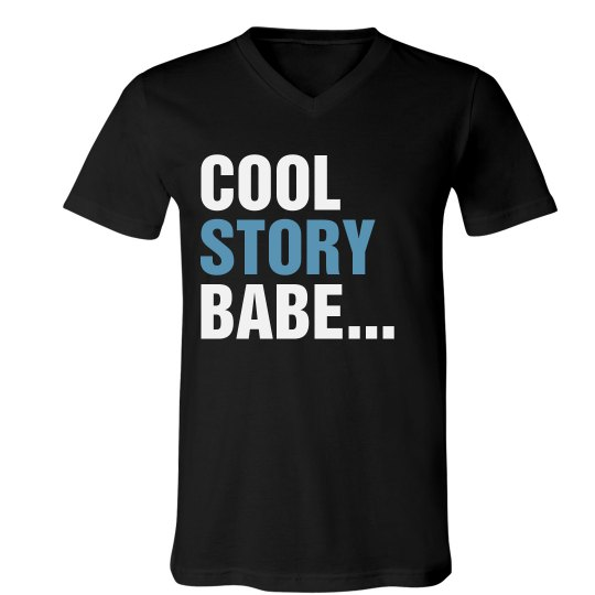 Cool Story Babe Blue