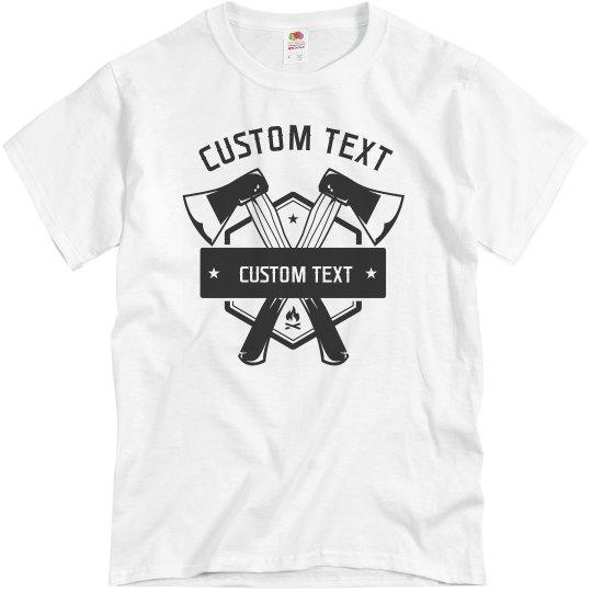Create a Custom Axe Throwing Tee