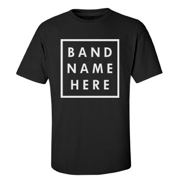 Create your own custom band tee for Making band t shirts