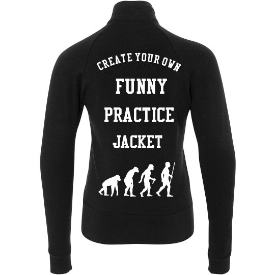 Create Your Youth Funny Boxercraft Practice Jacket