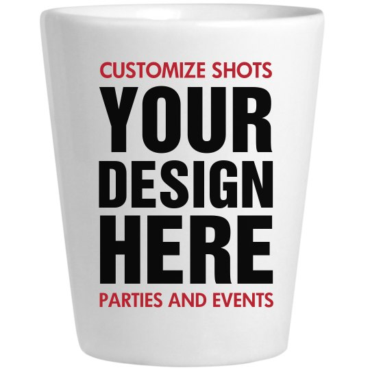 Custom 21st Birthday Shot Glass