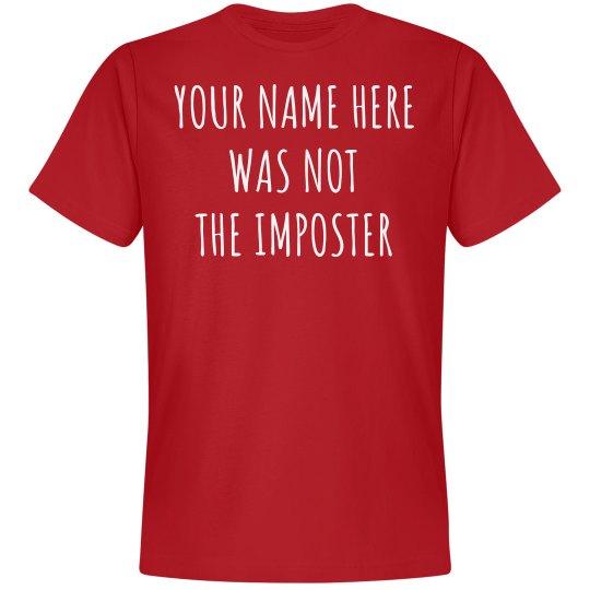 Custom Among Imposter Shirt