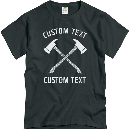 Custom Axe Throwing Club Tees