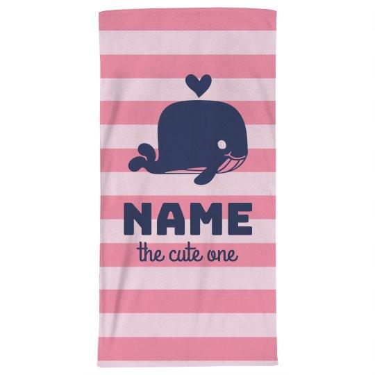 Custom Cute Beach Towel