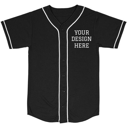 Custom Design Baseball Shirt
