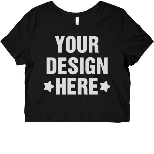 Custom Designer Crop Top