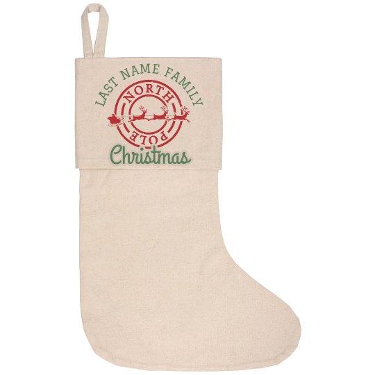Custom Family Christmas Stocking