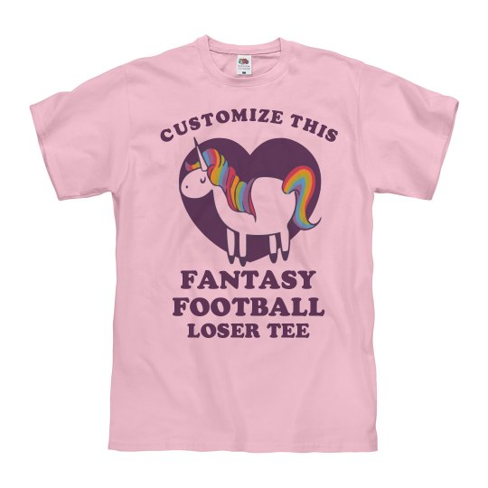 Custom Fantasy Football Loser