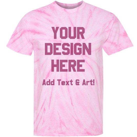 Custom Fantasy Football Loser Shirt Unisex Tie Dye Cyclone