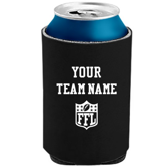 Custom Fantasy Team Koozie FFL