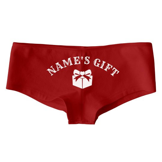 Custom Name Christmas Present