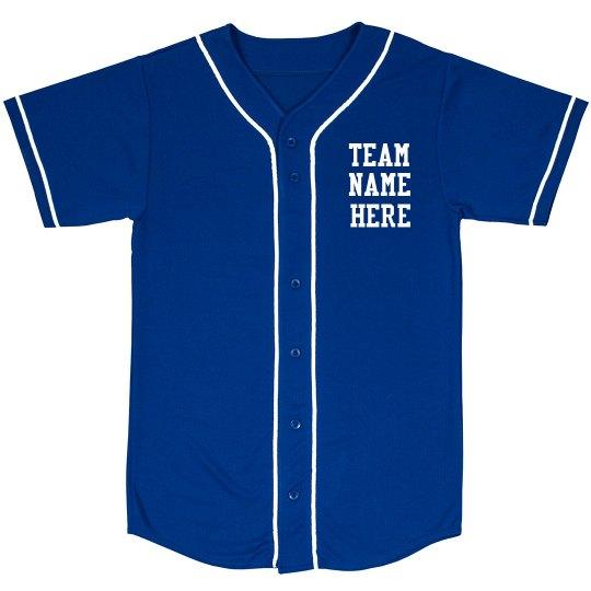 Custom Nickname Softball Shirt