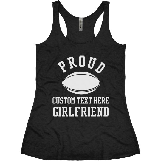 Custom Proud Rugby Girlfriend