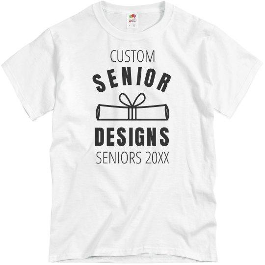 Custom Seniors Graduation Design