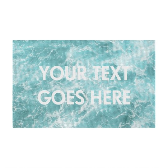 Custom Text Oceanic Design