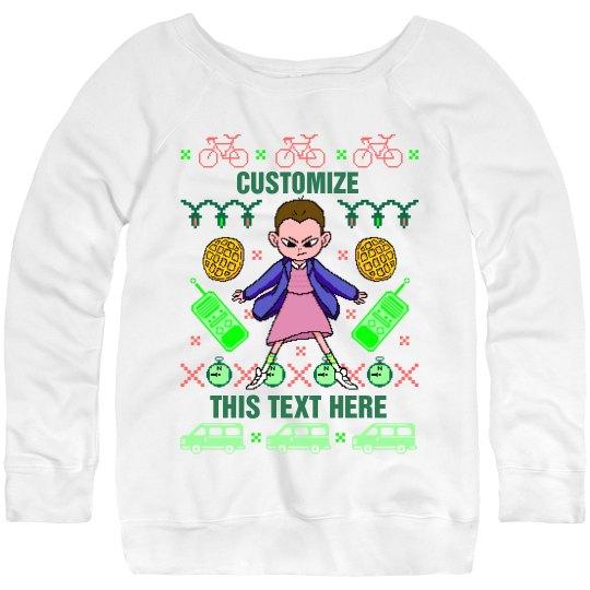 Custom Upside Down Sweater