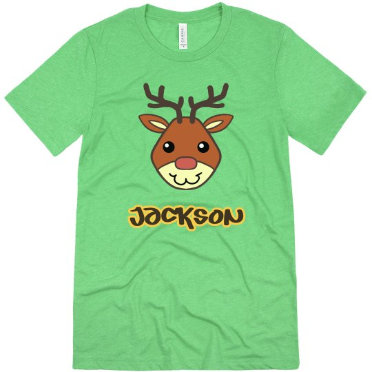 Cute Christmas Reindeer Shirt
