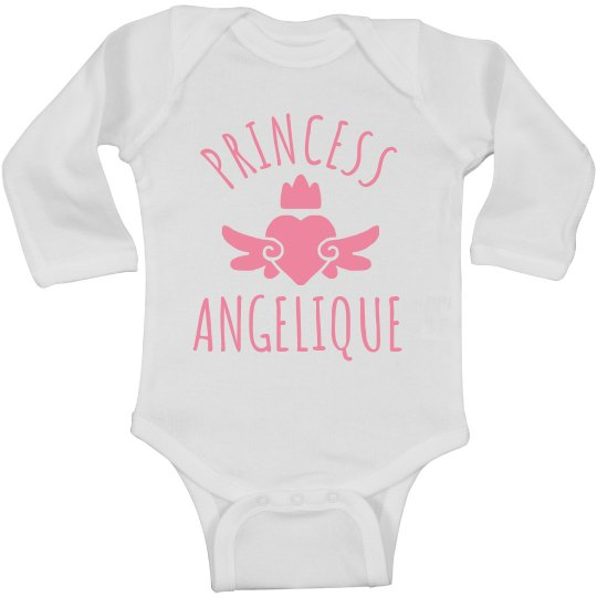 Cute Princess Angelique Heart Onesie