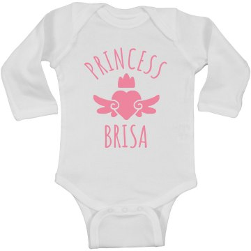 Cute Princess Brisa Heart Onesie