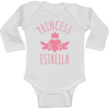 Cute Princess Estrella Heart Onesie