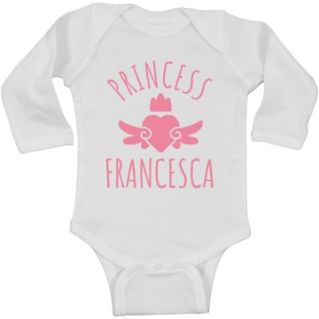 Cute Princess Francesca Heart Onesie