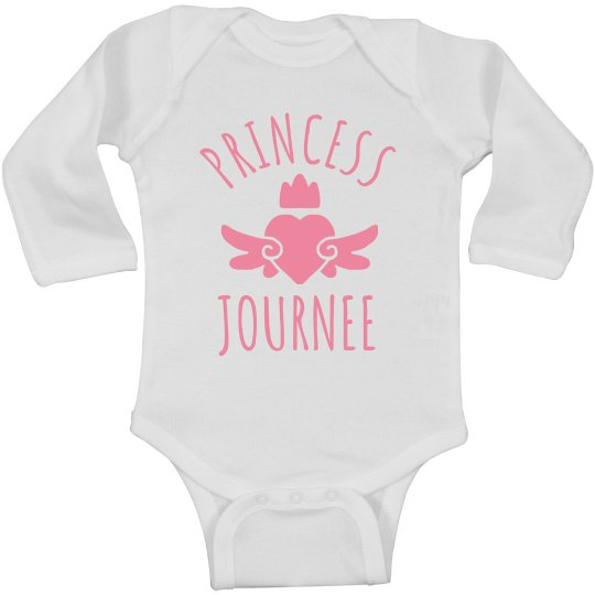 Cute Princess Journee Heart Onesie