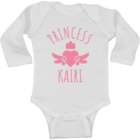 Cute Princess Kairi Heart Onesie