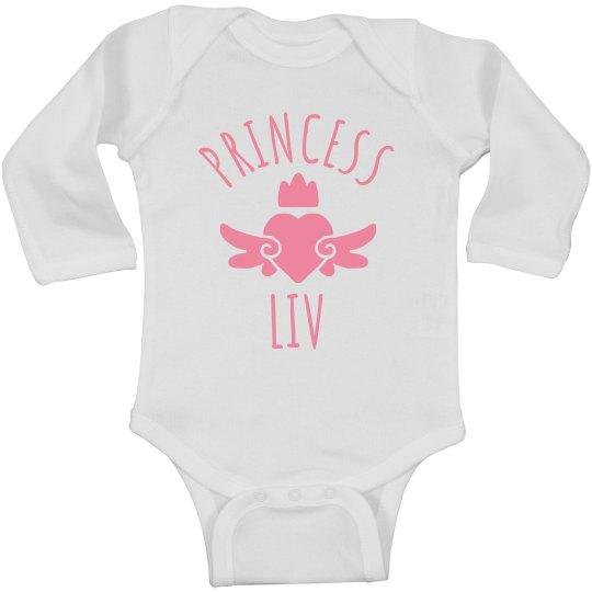 Cute Princess Liv Heart Onesie