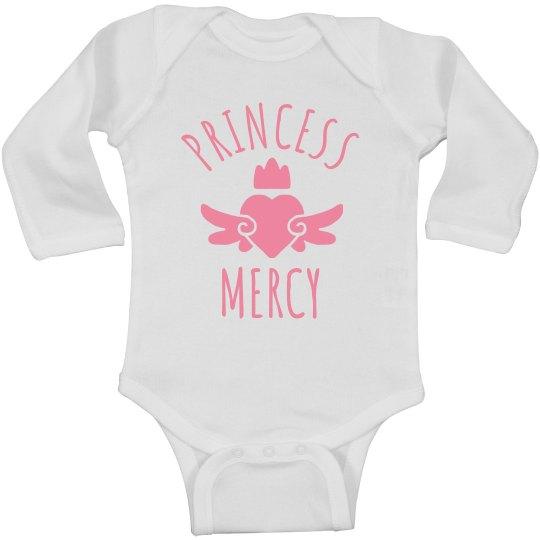 Cute Princess Mercy Heart Onesie