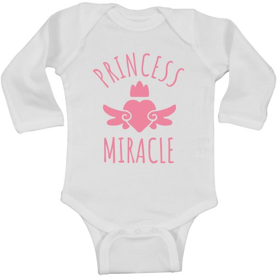 Cute Princess Miracle Heart Onesie