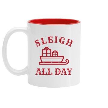 Cute Sleigh All Day Festive Design