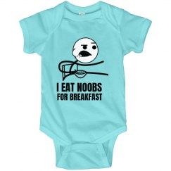 Noob Breakfast Onesie