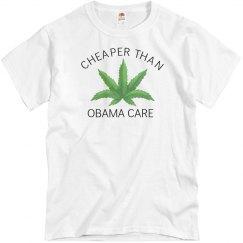 Cheaper Than Obama Care