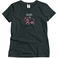 GUNS & HAM (Misses charcoal/silverpink)