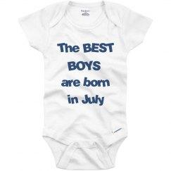 Best boys born in July